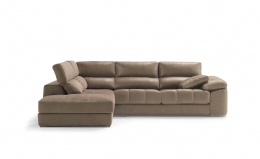 sofa chaiselong modelo ariela divani