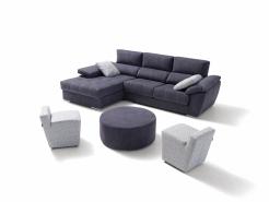 sofa chaiselong modelo comic divani