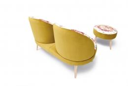 butaca sillon doble modelo america divani