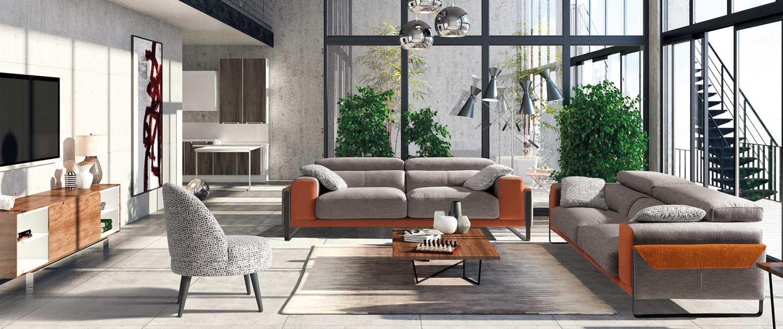 ambiente salon sofa modelo sharon divani