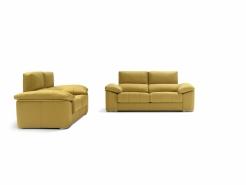 sofa chaiselong modelo ariela divani amarillo