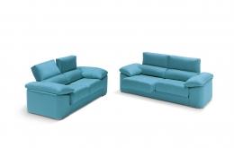 sofa chaiselong modelo ariela divani azul