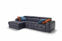 sofá chaiselong arcon modelo leonardo divani