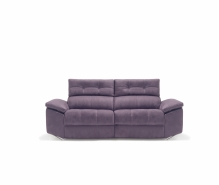 sofa chaiselong violeta modelo lotus divani