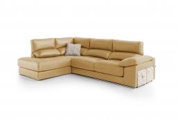 sofa chaiselong modelo irati divani amarillo