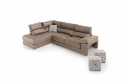 sofa chaiselong modelo irati divani marron
