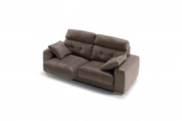 sofa modelo london divani marron