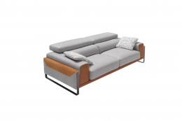 sofá gris sharon divani