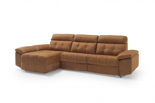 sofa alaska marron divani