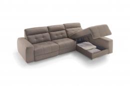 sofa chaiselong modelo amadeus divani